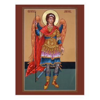 Tarjeta del rezo de Michael del arcángel