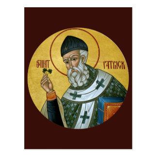 Tarjeta del rezo de St Patrick