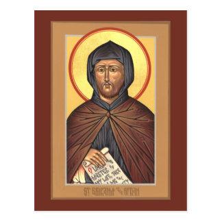 Tarjeta del rezo del rezo del St. Ephraim