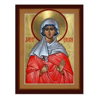 Tarjeta del rezo del St. Laura