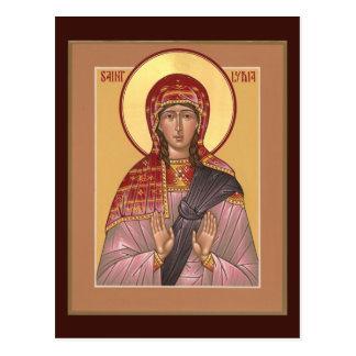 Tarjeta del rezo del St. Lydia