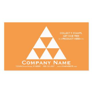 Tarjeta del sello de la pirámide de la LEALTAD Tarjetas De Visita