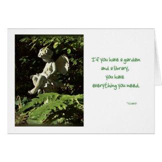 Tarjeta del Sprite del jardín