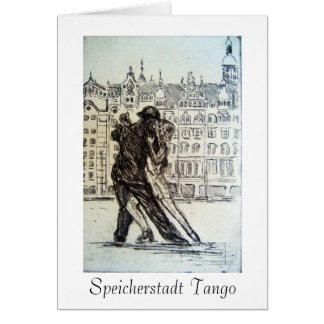 Tarjeta del tango de Speicherstadt