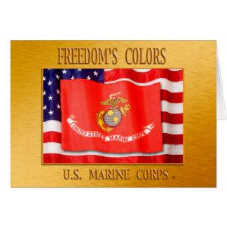 Tarjeta del USMC