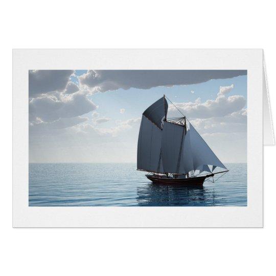 Tarjeta del velero para todas las ocasiones