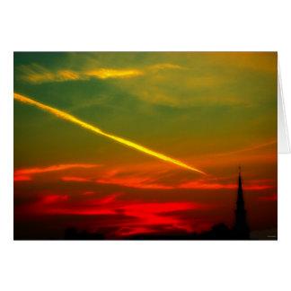 tarjeta del Viernes Santo de rosso di mattina