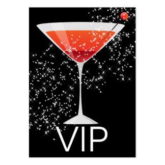 Tarjeta del VIP - clubs/barras/Pubs - SRF Tarjetas De Visita Grandes