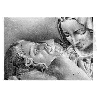 Tarjeta del Virgen María del Jesucristo