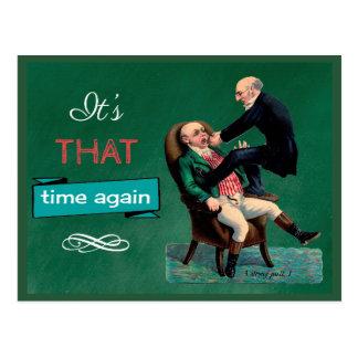 Tarjeta dental divertida del recordatorio de la postal