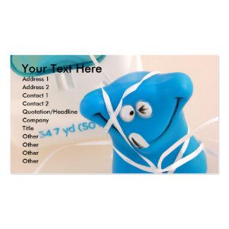 Tarjeta dental tarjetas de visita