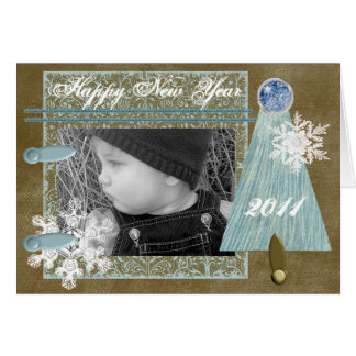 Tarjeta Deseos del invierno de encargo