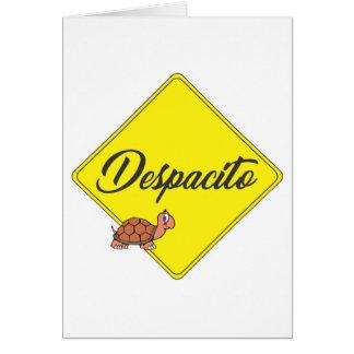 Tarjeta Despacito