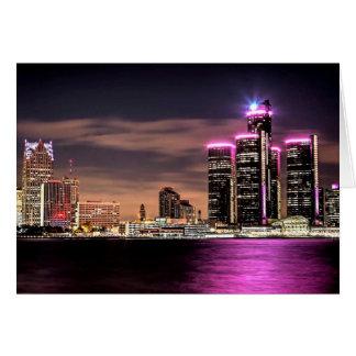 Tarjeta Detroit Notecard