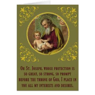 Tarjeta Día de la novena del banquete de Jesús del bebé de