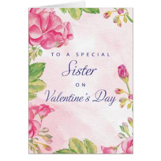 Tarjeta Día de San Valentín de la hermana de la monja,