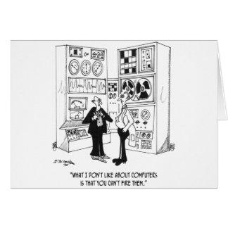 Tarjeta Dibujo animado 4632 del empleado