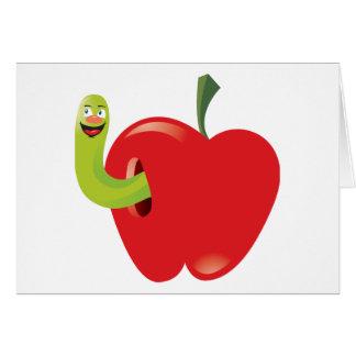 Tarjeta Dibujo animado Apple
