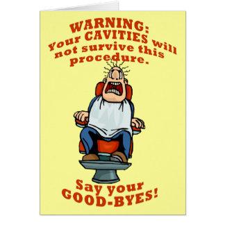 Tarjeta ¡Diga su Goodbyes!