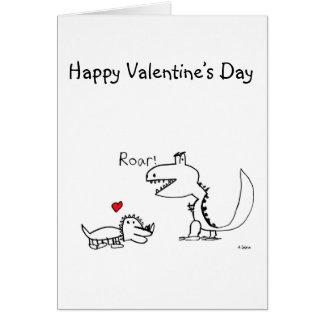 Tarjeta Dino que ruge, su Special