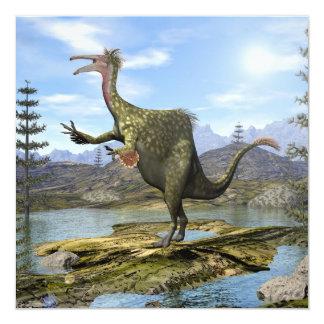 Tarjeta Dinosaurio del Deinocheirus - 3D rinden