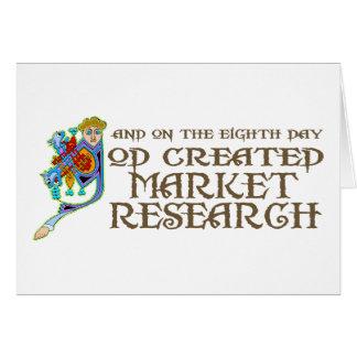 Tarjeta Dios creó estudio de mercados