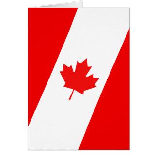 Tarjeta Diseño canadiense