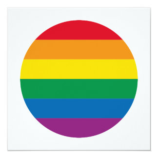 Tarjeta Diseño colorido del arco iris del orgullo el |