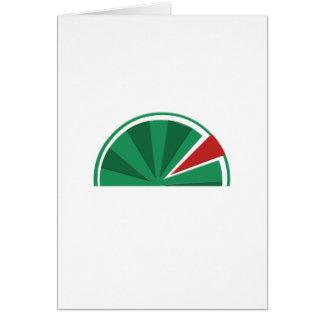 Tarjeta diseño de la sandía