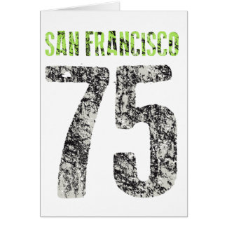 Tarjeta diseño de San Francisco