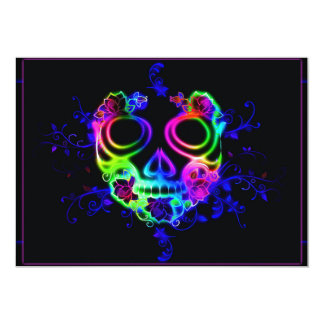 Tarjeta Diseño del cráneo