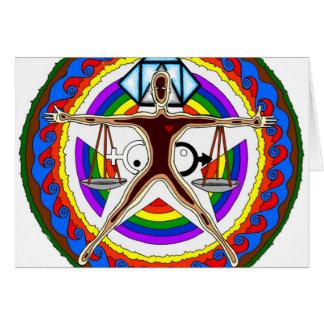 Tarjeta Diseño del escudo