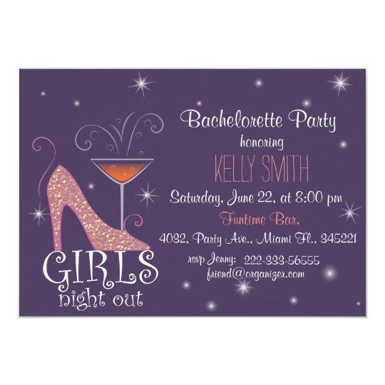 Tarjeta Diseño del fiesta de Bachelorette