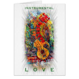 Tarjeta Diseño instrumental #8 del amor