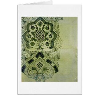 Tarjeta Diseño para una impresión eclesiástica del papel