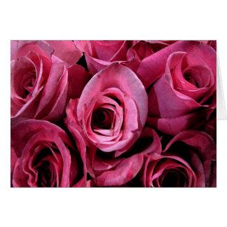 Tarjeta Diseño rosado del rosa