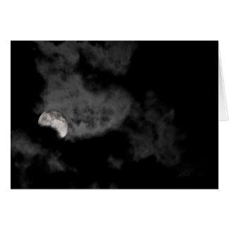 Tarjeta Disminución y nublado