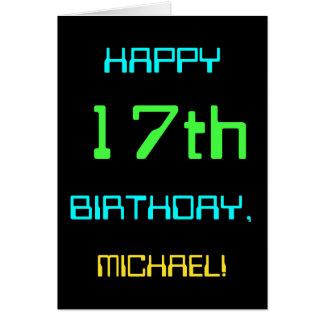 Tarjeta Diversión Digital que computa 17mo cumpleaños