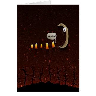 Tarjeta divertida de Halloween