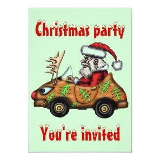 Tarjeta divertida de la invitación de la fiesta de invitación 12,7 x 17,8 cm