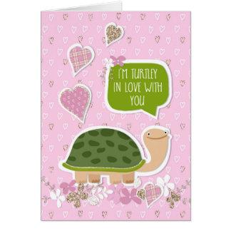 Tarjeta divertida del el día de San Valentín -