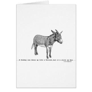 Tarjeta DIY DonkeyUnicorn ver2