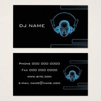 tarjeta DJ de la industria musical