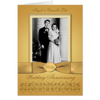 Tarjetas de felicitación para celebrar el aniversario de boda