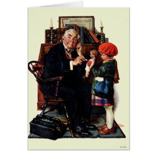 Tarjeta Doctor y la muñeca