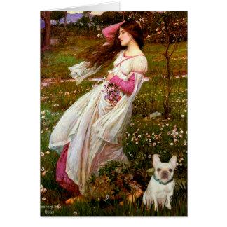 Tarjeta Dogo francés 1 - Windflowers