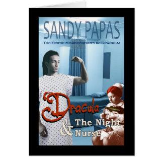 Tarjeta Drácula y la enfermera de noche