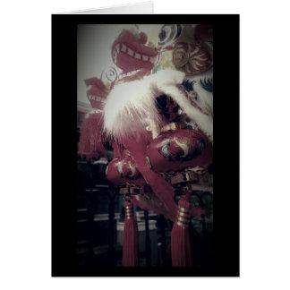 Tarjeta Dragón chino