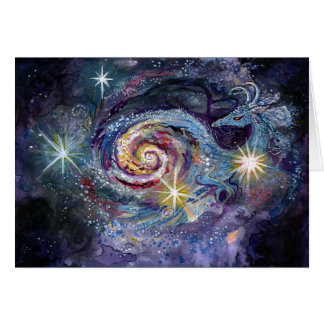 Tarjeta Dragón de la galaxia