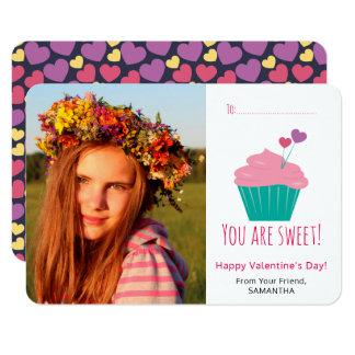 Tarjeta dulce del el día de San Valentín de la Invitación 8,9 X 12,7 Cm